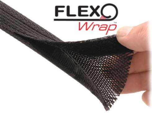 techflex braided sleeving products general purpose flexo wrap pet